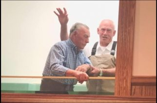 Great-great-grandfather saved, baptised just shy of 91st birthday