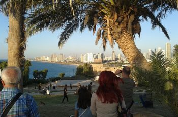 Sign of the times: Tel Aviv, gateway to the modern nation state of Israel, restored after nearly 2,000 years.