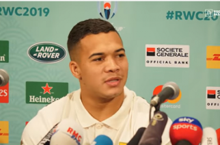 WATCH: Cheslin Kolbe says God healed his ankle for the final