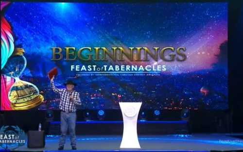 Thousands of Christians flock to Jerusalem for Feast of Tabernacles
