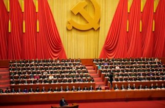 Chinese President Xi Jinping speaks during the opening session of the 19th National Congress of the Communist Party of China at the Great Hall of the People in Beijing on October 18, 2017. | REUTERS/Aly Song