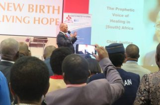 Chief Justice Mogoeng dispenses medicine for sick Church and society