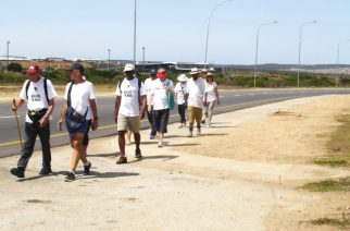 Nehemiah prayer walk can make a difference, says Bishop Eric as 200km pilgrimage draws to close