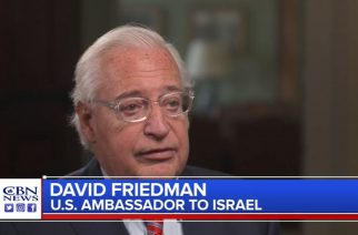 Trump peace plan can restore biblical heartland says ambassador Friedman