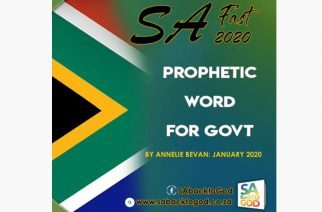 WATCH — PROPHETIC WORD: God is raising a future SA president to rule like David