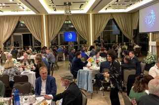 Local Messianic believers gather in Jerusalem to support the launch of Shelanu TV which will reach into Israel with the Gospel in Hebrew for the first time.