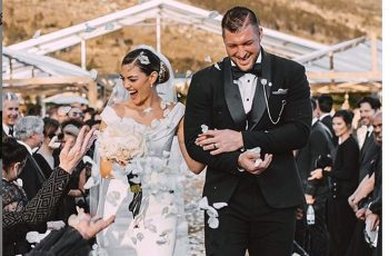 Tim Tebow marries former Miss Universe Demi-Leigh Nel-Peters in Cape Town