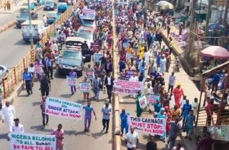 Five million Nigerian Christians march to protest killings