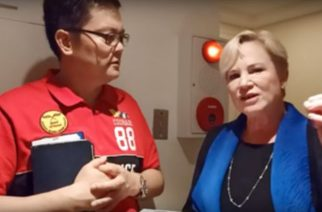Heidi Baker with Pastor Hiram Pangilinan in Manila on March 13 2020