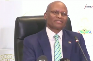 WATCH: Chief Justice Mogoeng calls for power of prayer amidst virus threat