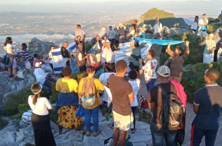 SA intercessors release repentance, revival prayers from Table Mountain