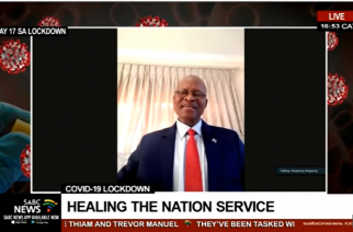 Mogoeng leads campaign to bring healing to SA