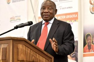 SA President Cyril Ramaphosa met with the African Union (AU) in his role as chairperson on Thursday March 26 2020 on the eve of South Africa's initial 21-day lockdown, and later spoke with members of the G20 to assess the global cooperative effort in the fight against the coronavirus (PHOTO: The South African/Flickr).