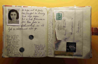 Lockdown lesson from Anne Frank's diary — Charles Gardner