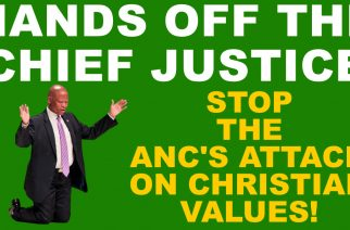 SA Friends of Israel 'march' on Luthuli House — Hands off Chief Justice Mogoeng