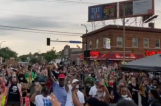 Scores saved, healed at intersection where Floyd was killed