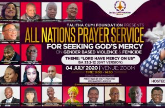 All-nations prayer gathering calls out to God over gender-based violence and femicide