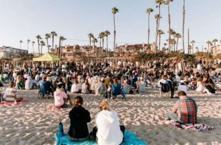 California beach revival attended by 1000: 'The church has left the building'