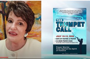 Prayer warriors worldwide rally to 'Trumpet Call' to rise against violence