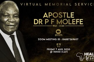 Tribute to a legend: Apostle Dr PF Molefe — Tshego Motaung