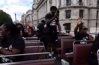 Worshippers praise Jesus on double-decker bus through London: 'An awakening needs to happen'