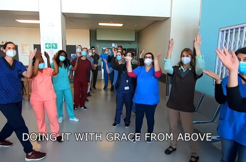 WATCH: PE hospital heroes record upbeat song in response to negative publicity