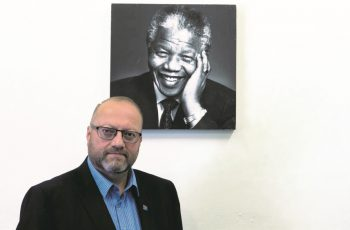 'My president is the almighty God, and that's who I serve' — reborn, veteran ANC fighter, Neil de Beer